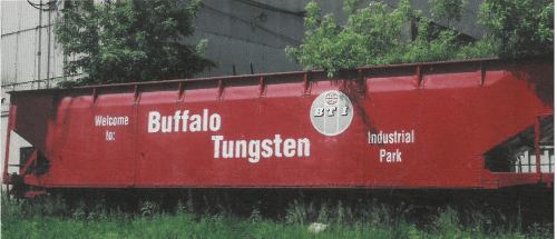 Buffalo Tungsten Railcar