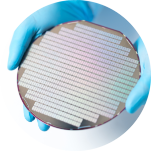Circle Silicon Wafer