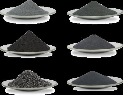 Powdered Tungsten Materials